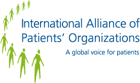 International Alliance of Patients' Organisations logo
